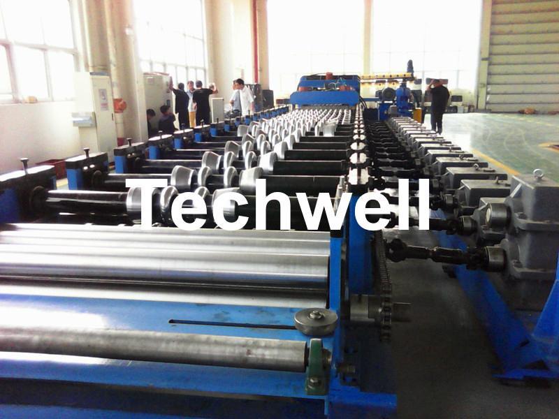 Ga  anized Steel Silo Corrugated Roll Forming Machine 3