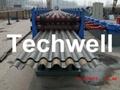 Ga  anized Steel Silo Corrugated Roll Forming Machine 5
