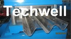 W Beam Guardrail Roll Forming Machine For W Beam