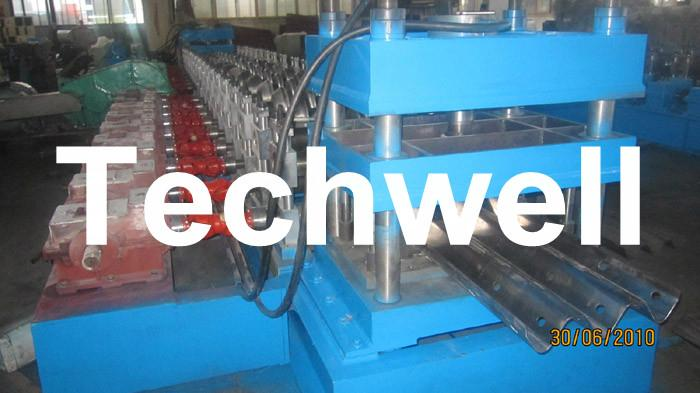 W Beam Guardrail Roll Forming Machine For W Beam 3