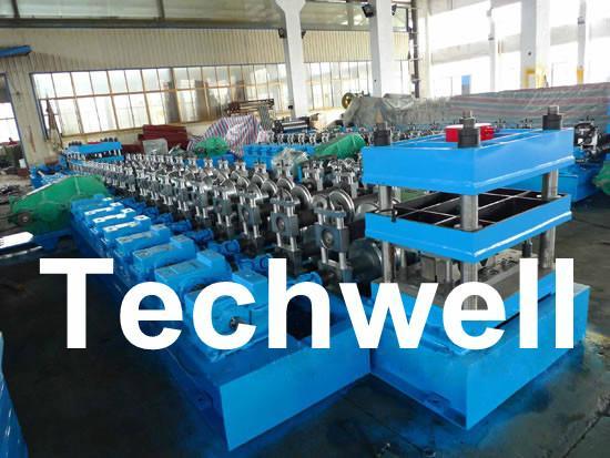 W Beam Guardrail Roll Forming Machine For W Beam 5