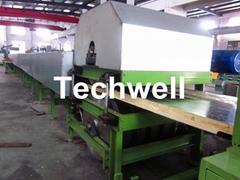 Double Belt Continuous PU Sandwich Panel Production Line