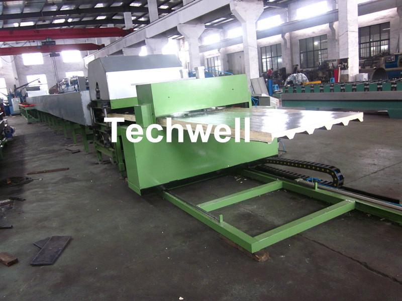 Double Belt Continuous PU Sandwich Panel Production Line 4