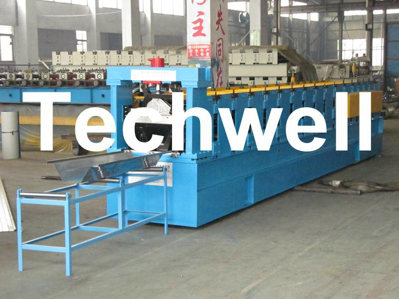 Electric Control Trailer Mounted K Span Roll Forming Machine 1