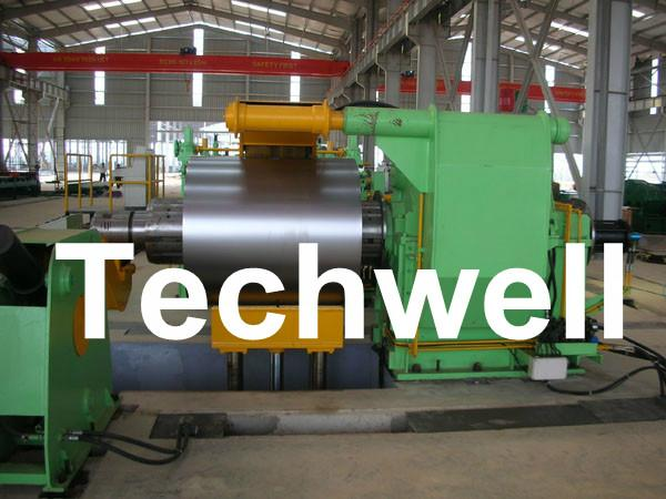 Steel Metal Slitting Machine Line With Electric Control System 2