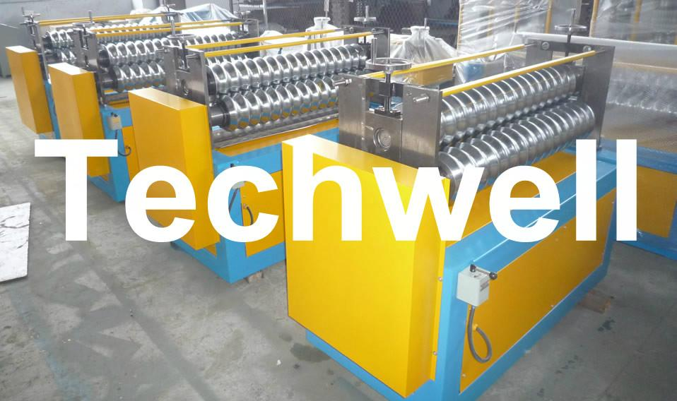 Roof Panel Curving Machine to Curve with PLC Computer Control 1