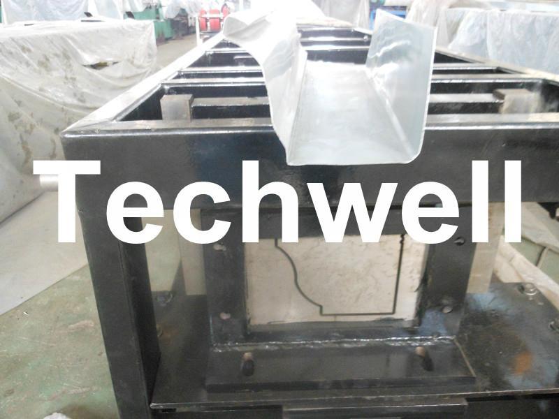 Steel/ Aluminum Metal Seamless Gutter Machine For Rainwater Gutter 1