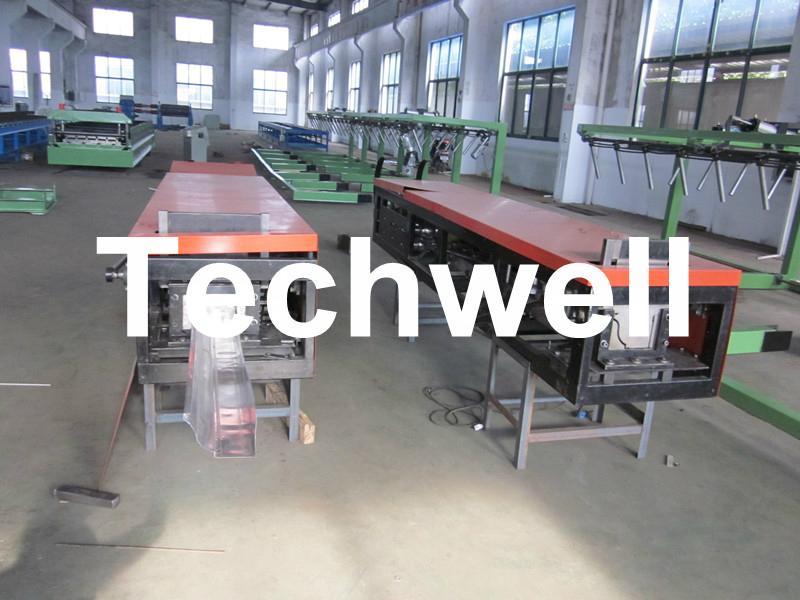 Steel/ Aluminum Metal Seamless Gutter Machine For Rainwater Gutter 2