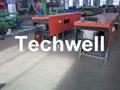 Steel/ Aluminum Metal Seamless Gutter Machine For Rainwater Gutter 3