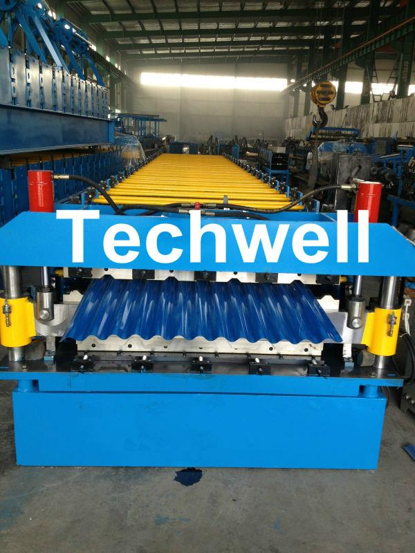 Custom Automatic Double Layer Sheet Roll Forming Machine 1