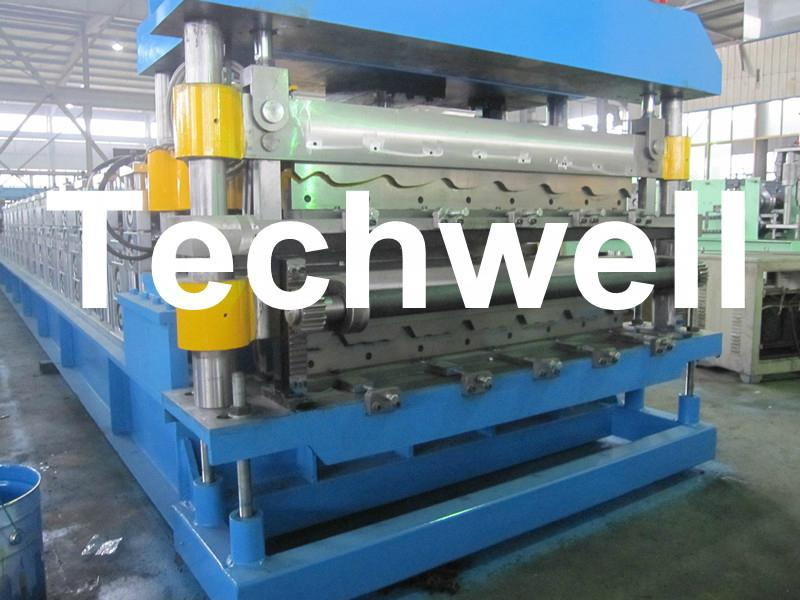 Custom Automatic Double Layer Sheet Roll Forming Machine 4