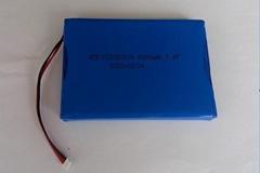 聚合物锂电池5880109-6500mAh 7.4V