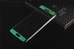 tempered glass screen protector for Samsung s6 edge