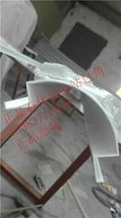 广东加油站包柱专用圆角高光白铝包角