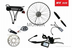 Electric Bicycle Conversion Kits with LiFePo4 Battery