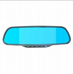 1080P rearview mirror car dvr with Wifi function