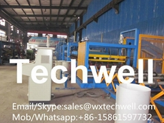 Rock Wool Insulated Sandwich Panel Making Machine