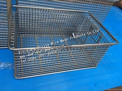 Stainless Steel Sterilize Cleaning Storage Wire Basket