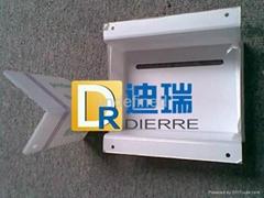 供應乳白PC板90度折彎加工