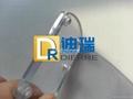 供應PC板透明6mm銑槽加工