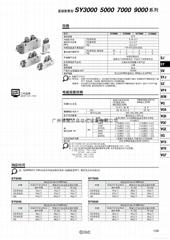 SY5120-5LZD-01 2位5通先导式单电控SMC电磁阀