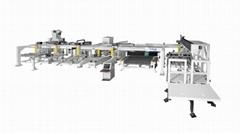 Labor-saving automatic automobile side windows CNC grind-drill production line