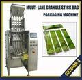 Multi-track granule stick bag packing machine