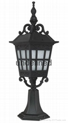 Antique style Industial pillar for outdoor