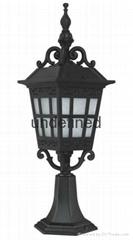 High Quality Antique Fashional European Style Pillar Lights