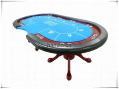 Custom design casino first grade round poker table