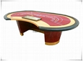 Luxury Baccarat table