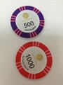 Plastic Clay ABS Ceramic Professional OEM Supply Custom Metal Poker Chips 4