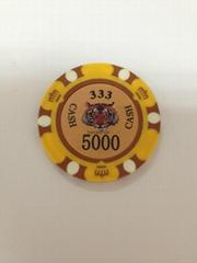 Plastic Clay ABS Ceramic Professional OEM Supply Custom Metal Poker Chips