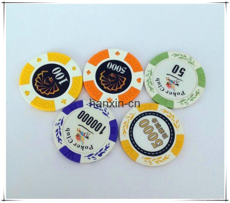 Casino Clay Durable Reasonable Price Factory Customized Cheap Poker Chips 3