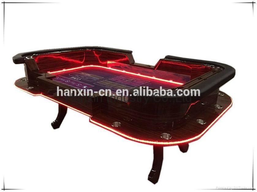 Pleasing Deluxe Led Poker Table Texas Holder Poker Tables Beutiful Home Inspiration Xortanetmahrainfo