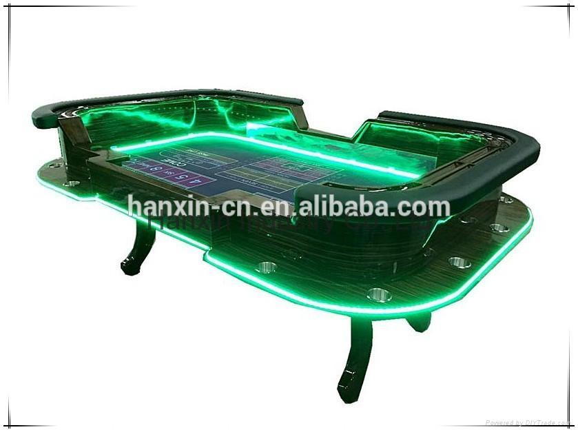 ... Deluxe LED Poker Table Texas Holder Poker Tables Professional Poker  Table 2 ...
