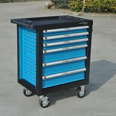 258Pcs Tool Trolley Auto Repair Tools Set Hand Tool Set For Garage Kit
