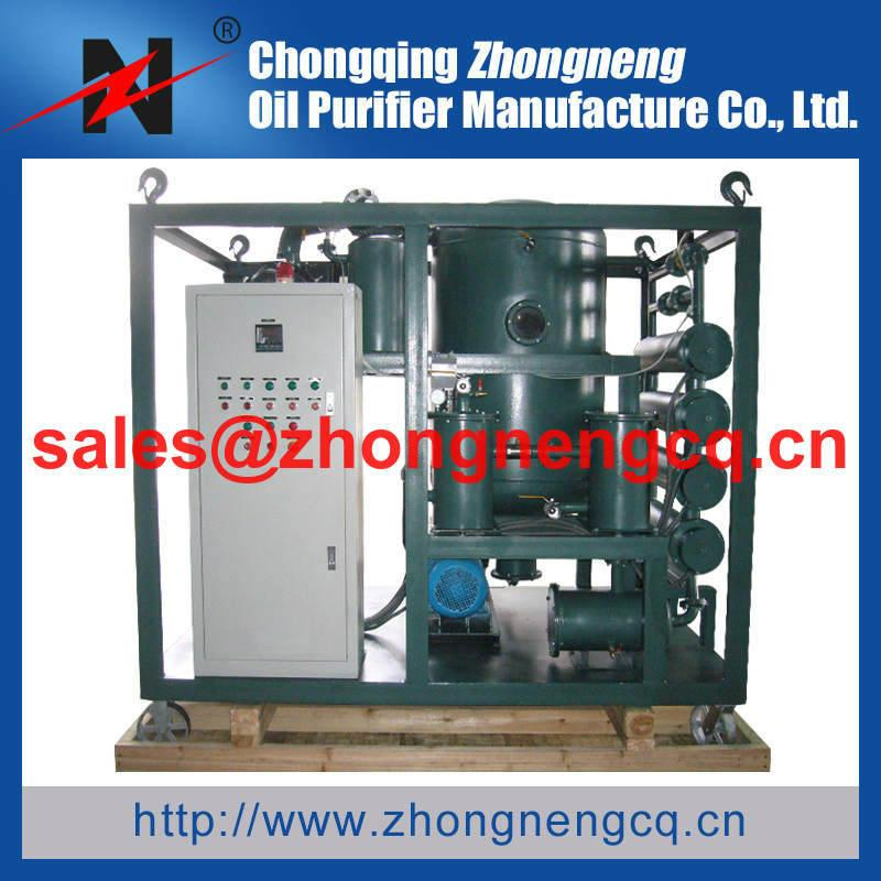 Mobile Type Vacuum Transformer Oil Purifier  3