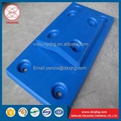 Corrosion resistance dock use uhmwpe fender panel for sale