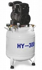 Free Oil  Dental Portable Mini Air Compressor