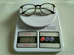 S:-900高度超薄時尚圓框眼鏡