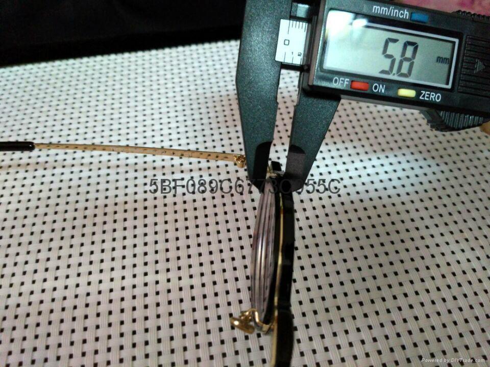 S:-1100高度超薄近視圓框眼鏡 1