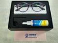 -1200度高度超薄時尚紫色圓框眼鏡 2