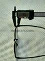 S:-1250度高度超薄時尚運動型黑色框架眼鏡 4