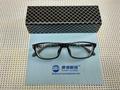 S:-1250度高度超薄時尚運動型黑色框架眼鏡 5