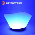 12L Plastic led illuminated wine ice bucket 3