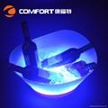 12L Plastic led illuminated wine ice bucket 5