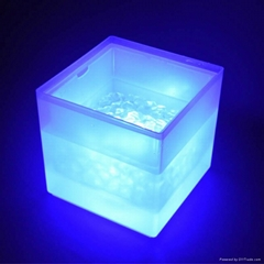 3L Square LED ice bucket