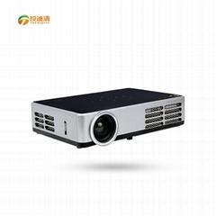 投迪清TDQ-86WIFI便携时尚多功能高清投影机