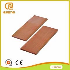 Baked poplar wooden slats
